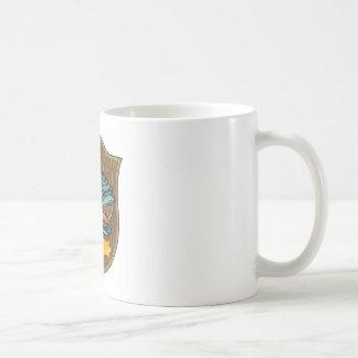 largemouth bass head trophy mug