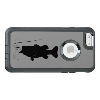 Largemouth Bass in Silhouette OtterBox iPhone 6/6s Case