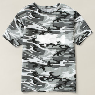 Largemouth Bass in Silhouette T-shirt
