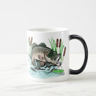 Largemouth Bass Magic Mug
