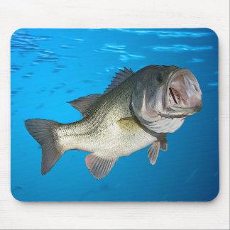 Largemouth bass mouse pad