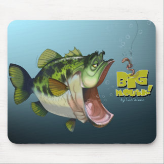 LargeMouth Bass Mouse Pad