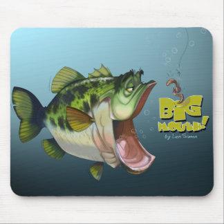 LargeMouth Bass Mouse Mats
