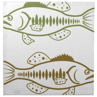 Largemouth Bass Napkin