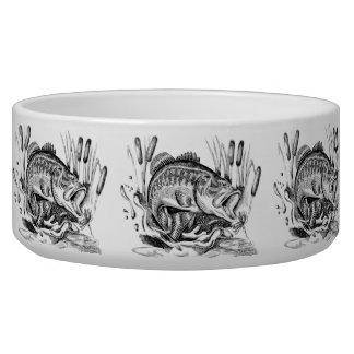 Largemouth Bass Dog Water Bowl