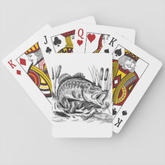 Largemouth Bass Playing Cards