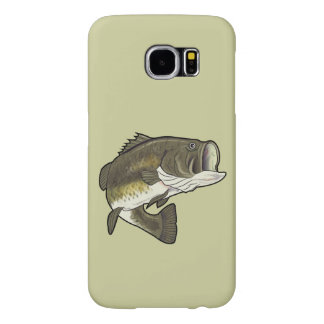 Largemouth Bass Samsung Galaxy S6 Case