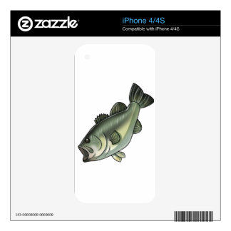 Largemouth Bass Skins For The iPhone 4