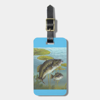 Largemouth Bass Tag For Luggage
