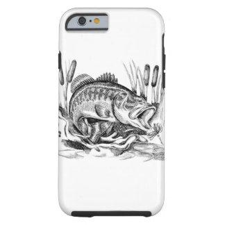 Largemouth Bass Tough iPhone 6 Case