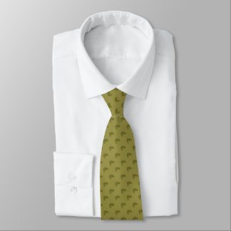 Largemouth Bass with Any Color Background Neck Tie