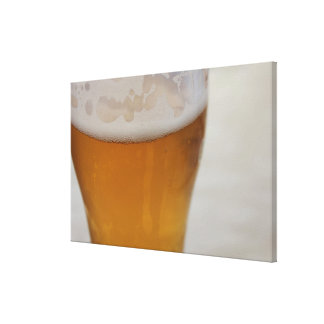 Larger Beer Canvas Print