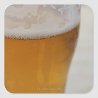 Larger Beer Square Sticker