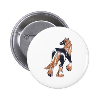 LARGER CLYDESDALE HORSE PINS