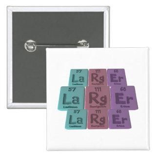 Larger-La-Rg-Er-Lanthanum-Roentgenium-Erbium.png Pin Cuadrada 5 Cm