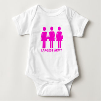 Largest Army (female) T-Shirt