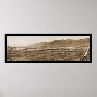 Largest Artillery TX Photo 1917 Print