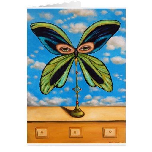 Largest Butterfly Card