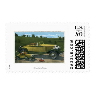 Largest Car in World, Studebaker Proving Postage