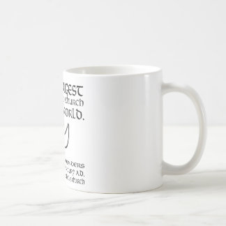 Largest Charismatic Church in the world Black Coffee Mug