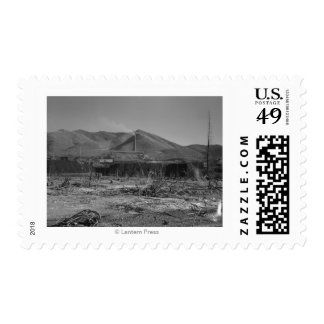 Largest lead mine in the world - Kellogg Postage
