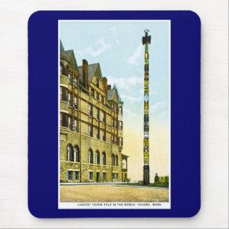 Largest Totem Pole in the World, Tacoma,Washington Mousepad