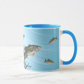 ;LARGMOUTH BASS-MUG MUG