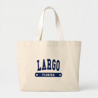 Largo Florida College Style tee shirts Canvas Bag