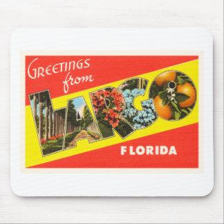 Largo Florida FL Old Vintage Travel Souvenir Mouse Pad