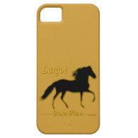 Largo Paso Fino iPhone 5 Case