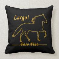 Largo Paso Fino Pillow