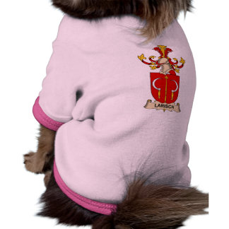 Larisch Family Crest Doggie T-shirt
