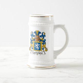 Lariviere Family Crest Beer Stein