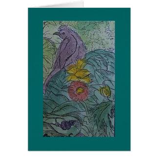 lark (and snail) card