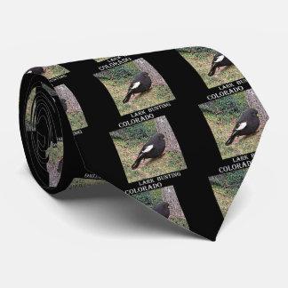 Lark Bunting (Colorado) Neck Tie