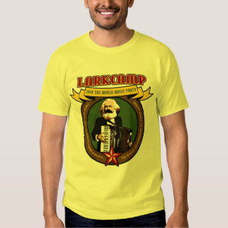 Lark Camp - World Music Party Accordion Shirt