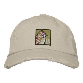 Lark Sparrow Embroidered Baseball Hat