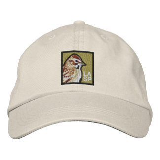 Lark Sparrow (non-distressed) Embroidered Baseball Hat