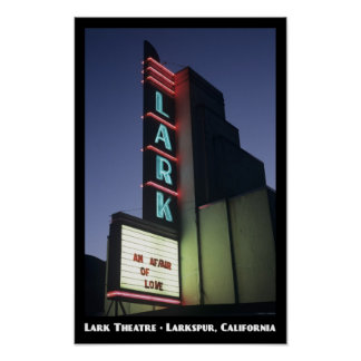 Lark Theatre 11x17 Poster