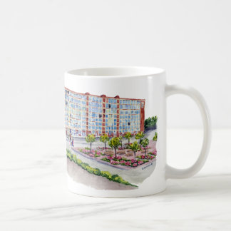 Larkin Building With Taur Cap logo Classic White Coffee Mug