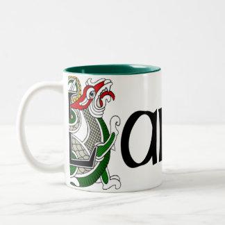 Larkin Celtic Dragon Mug