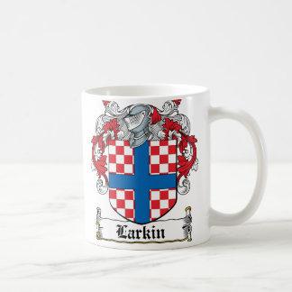 Larkin Family Crest Classic White Coffee Mug