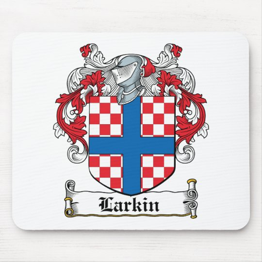 Larkin Family Crest Mouse Pad