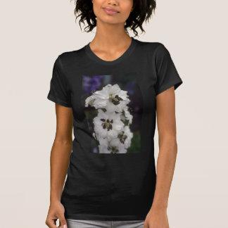 Larkspur blanco, (Delphinium Hybride) flores Camiseta