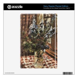 Larkspur by Lovis Corinth Skin For Sony Reader