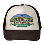 Larkspur Colorado small town souvenir hat