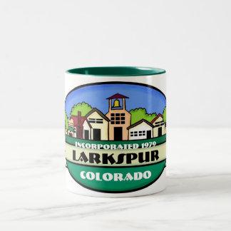 Larkspur Colorado small town souvenir mug