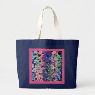 LARKSPUR DELPHINIUM Eco-Friendly Grocery Tote Bag