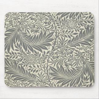 Larkspur, wallpaper design, 1872 mouse pad