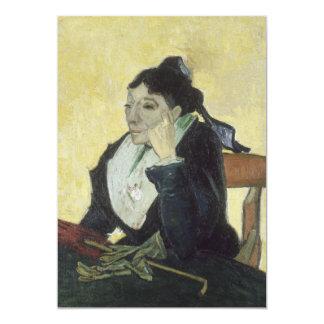 "L'Arlesienne: Madame Ginoux by Vincent Van Gogh 5"" X 7"" Invitation Card"